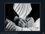 Mother Teresa (Hands) Poster