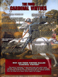 The Four Cardinal Virtues Explained Poster