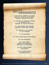 Spanish 10 Commandments Poster Catholic To The Max