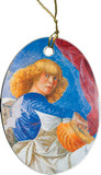 Blonde Angel Ornament