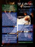 Saint Catherine of Siena Explained Poster