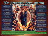 The Fourteen Holy Helpers Explained Poster