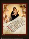 Spanish Hail Mary Graphic Poster