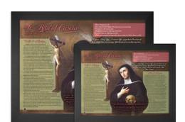 Saint Rita of Cascia Explained Poster