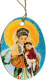 Our Lady of China Ornament