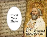 St. Edward Photo Frame