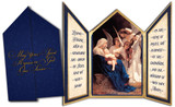 Song of the Angels Tri-fold Triptych Christmas Cards