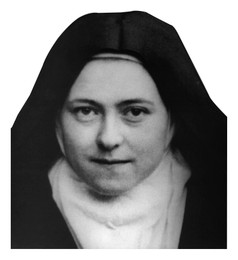 St. Therese Visor Clip