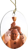 St. John Paul II Raising Chalice Ornament