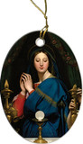 Madonna of the Host II Ornament