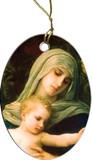 La Vierge Detail Ornament