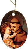 St. Anthony of Padua Ornament
