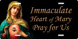Immaculate Heart of Mary License Plate