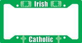 Irish Catholic Plate Frame