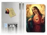 Sacred Heart Surrounded by Angels Magnet