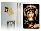 St. Rose of Lima Stained Glass Magnet