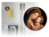 Our Lady of Good Counsel Round Magnet