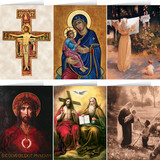 Assorted Christ and Mary Card Set