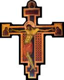 Byzantine Cross Cutout Magnet