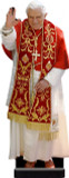 Benedict XVI in Red Standee