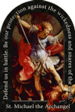 St. Michael the Archangel Prayer Arched Magnet