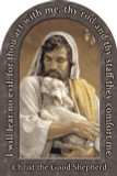 Christ the Good Shepherd Prayer Arched Magnet