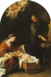 Holy Family Arched Magnet