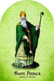 St. Patrick Arched Magnet