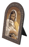 Christ the Good Shepherd Prayer Arched Desk Plaque