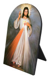 Divine Mercy Full Arched Desk Plaque
