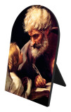 St. Matthew and the Angel Arched Desk Plaque