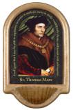 St. Thomas More Prayer Holy Water Font
