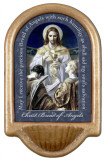 Bread of Angels Prayer Holy Water Font