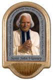 St. John Vianney Prayer Holy Water Font