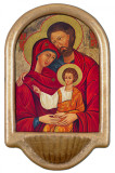 Holy Family Icon Holy Water Font