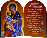 Our Lady of Good Health Arched Diptych