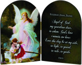 Guardian Angel Prayer Arched Diptych
