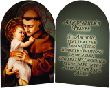 A Godfather's Prayer St. Anthony Arched Diptych