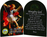 Army St. Michael II Arched Diptych