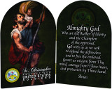 Army St. Christopher II Arched Diptych