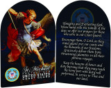 Coast Guard St. Michael II Arched Diptych