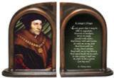 St. Thomas More/Lawyer's Prayer Bookends