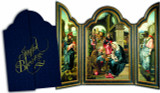 Joyful Blessings' Tri-fold Christmas Cards