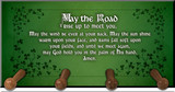 Irish Blessing Keychain Holder
