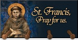 St. Francis Keychain Holder