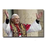 Pope Benedict Rejoicing Holy Card