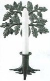 Oak Tree Candle Holder
