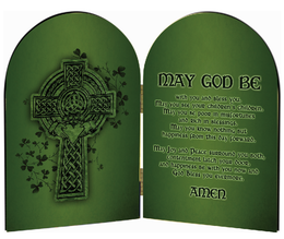 Irish Blessing Arched Diptych