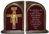 San Damiano Cross Bookends