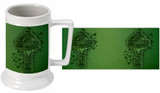 Celtic Cross Beer Stein